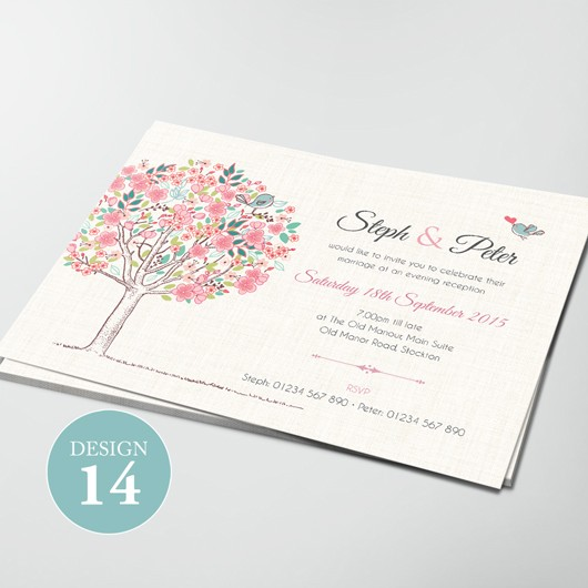 Wedding Invitations - Design 14