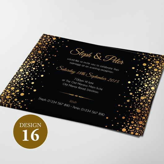 Wedding Invitations - Design 16