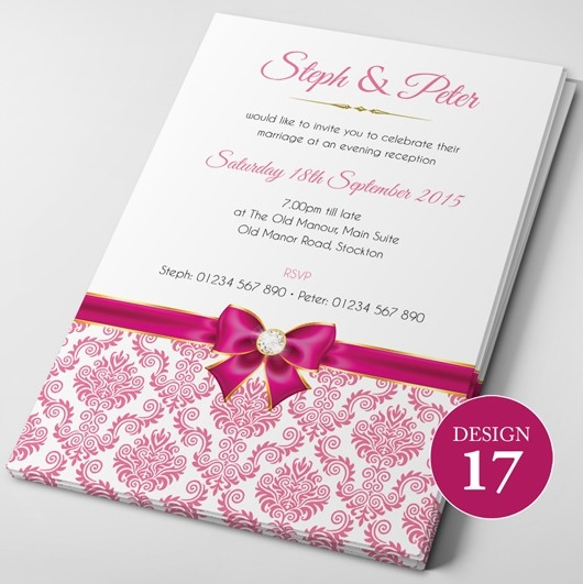 Wedding Invitations - Design 17