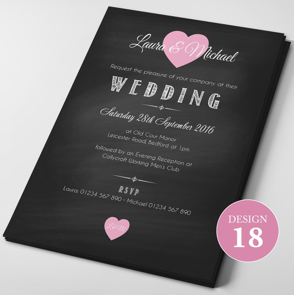 Wedding Invitations - Design 18