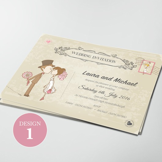 Wedding Invitations - Design 1
