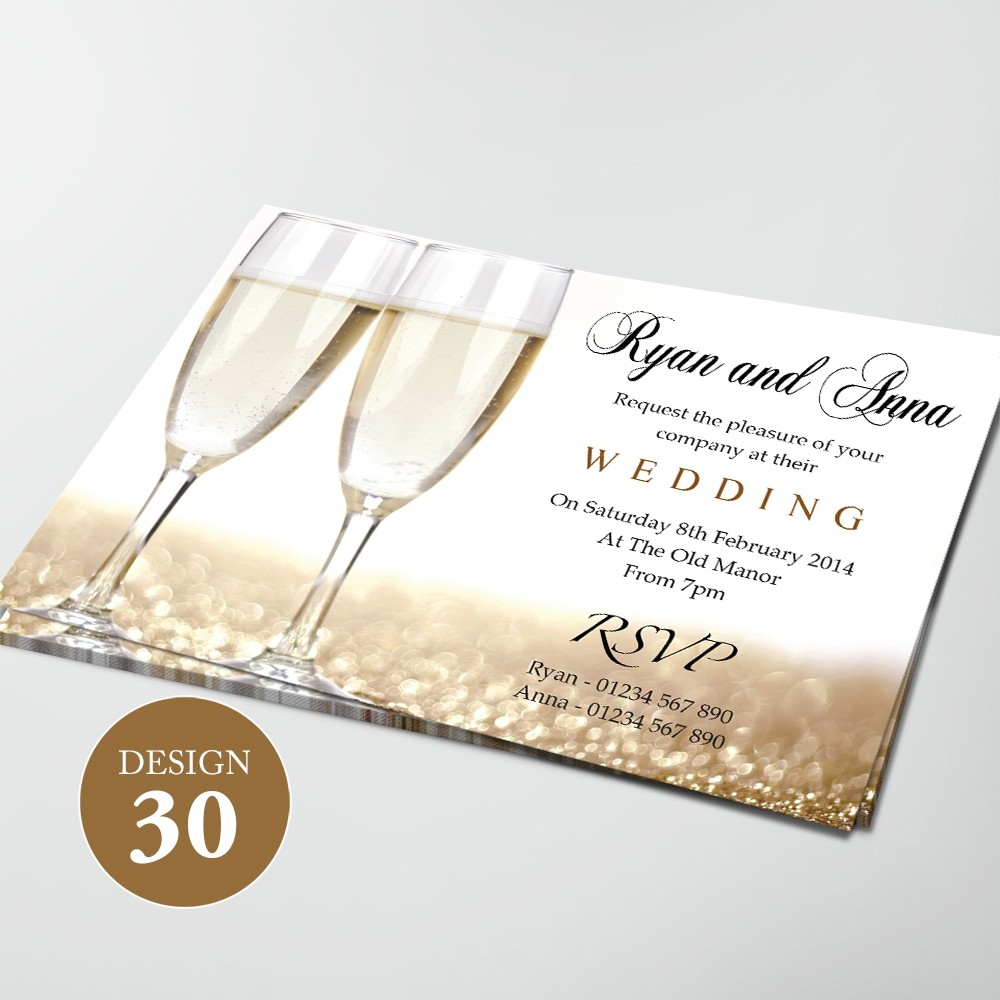 Wedding Invitations - Design 30