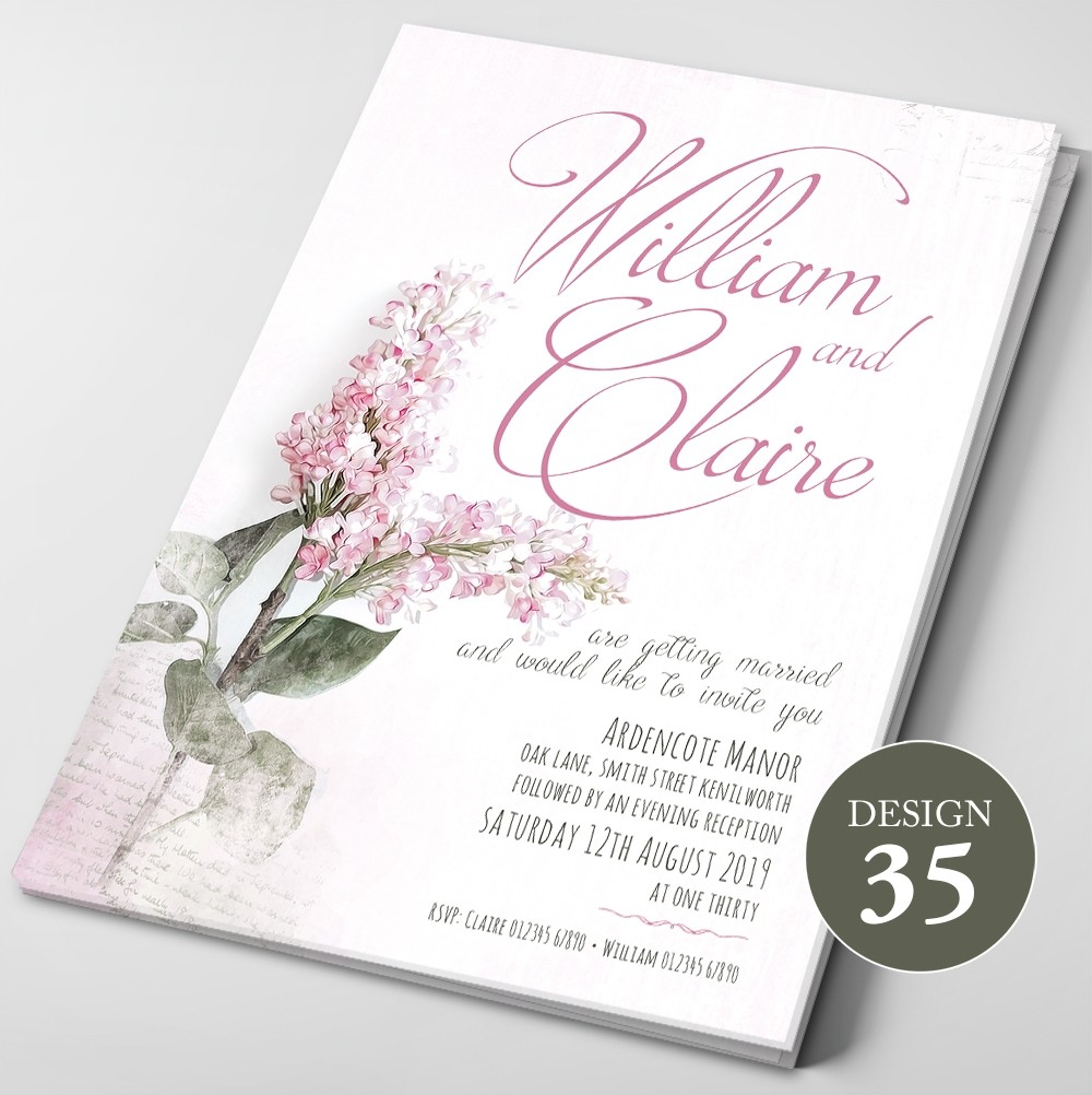 Wedding Invitations - Design 35