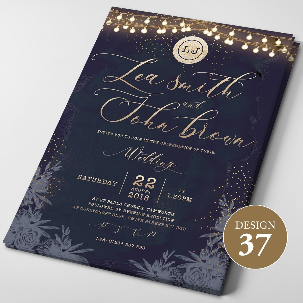 Wedding Invitations - Design 37