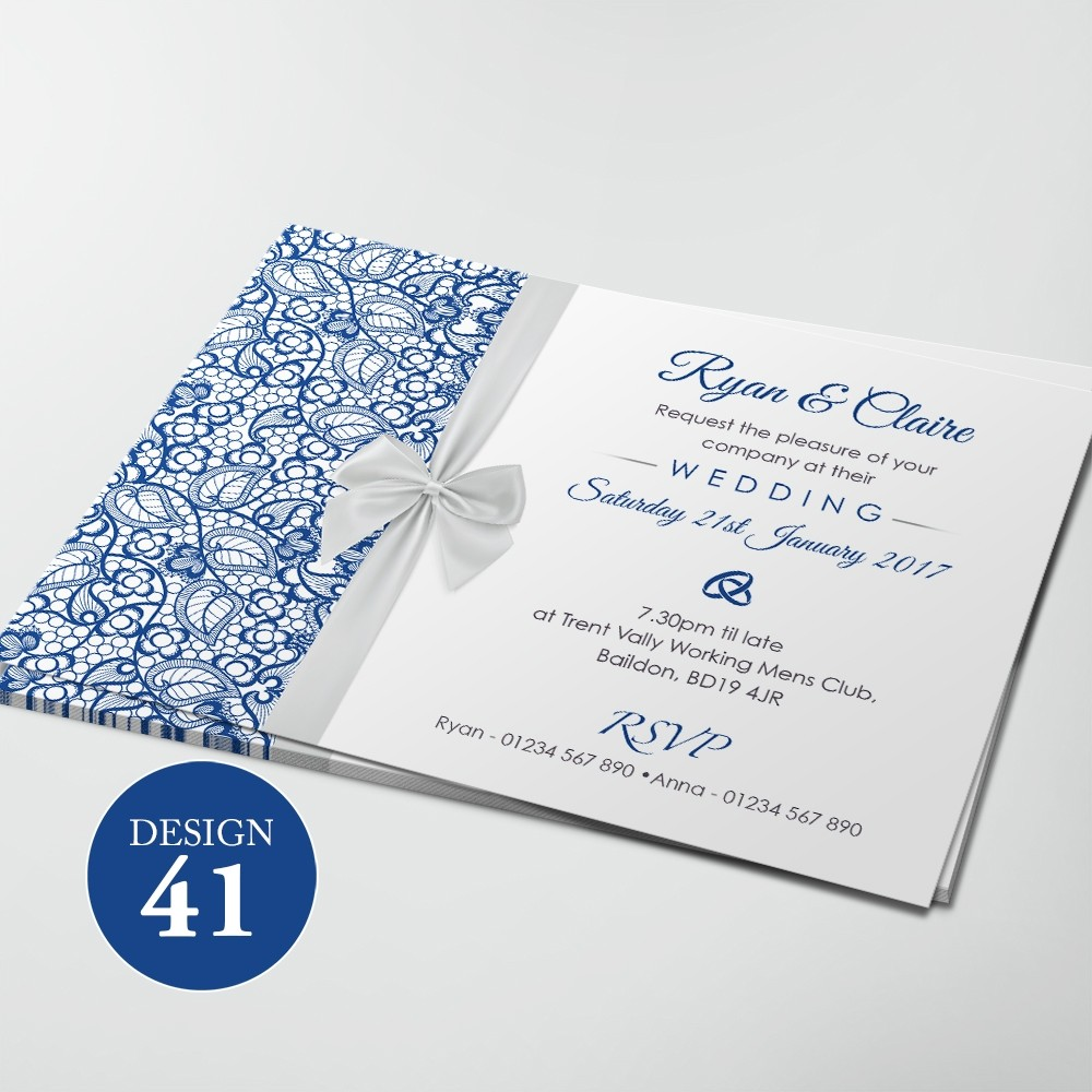 Wedding Invitations - Design 41