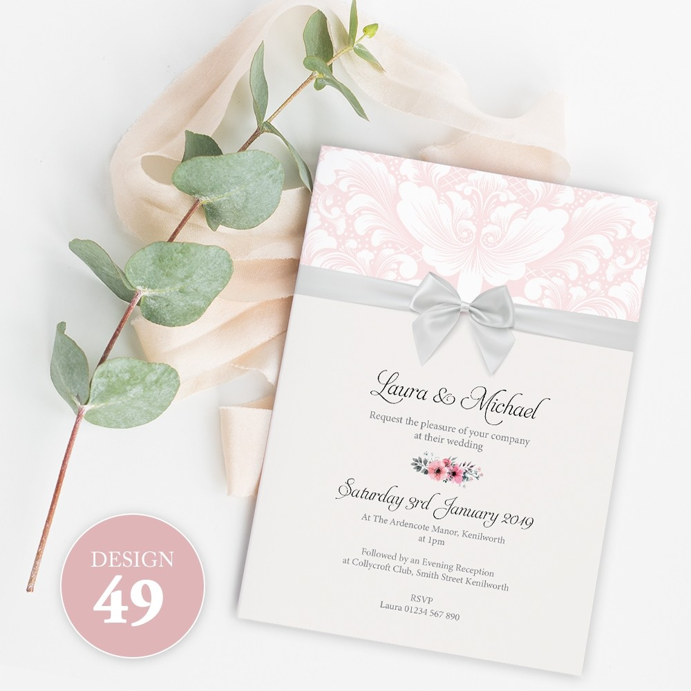 Wedding Invitations - Design 49